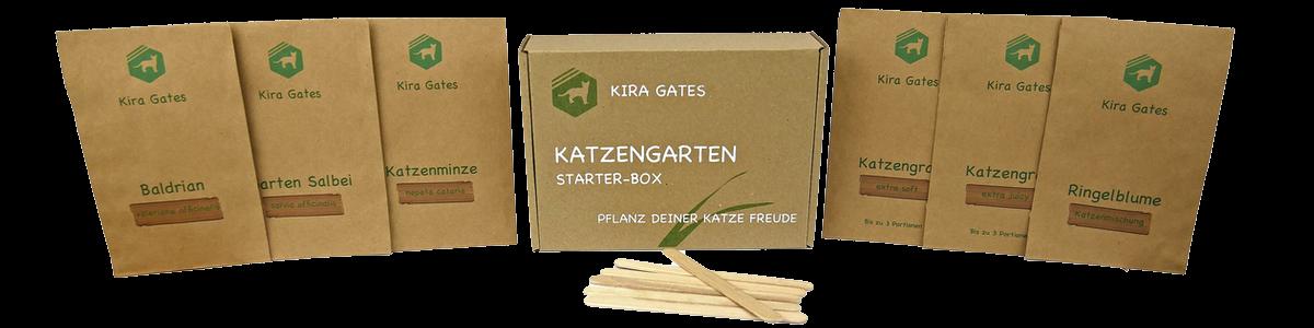 Katzengarten Katzengras Kira Gates Katzenminze