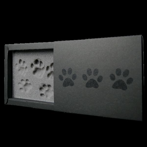 Kira Gates PawPrint Memories Pfotenabdruck Schaum ohne Farbe einfach sauber Geschenkidee Katze