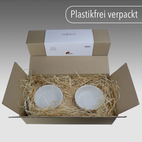 Futterstation plastikfrei verpackt Kira Gates