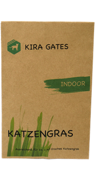Katzengras Samen für Innenräume indoor Katzengras Kira Gates