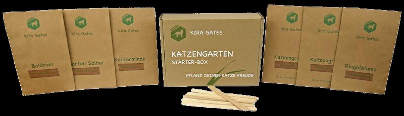 Katzengarten Salbei Katzenminze Samen Katzengras selbst anpflanzen Samen Baldrian Spielzeuge